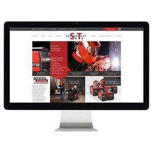 Корпоративный сайт для S.T.Technology