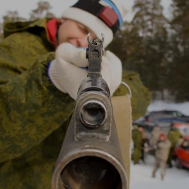 Лазерные стрелялки на 23-е февраля (Фотки)