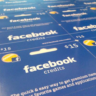 Ура! Официально разрешен вывод виртуальной валюты Facebook Credits изFacebook вРоссии, инетолько!