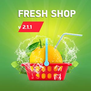 Fresh Shop— для магазина всоциальных сетях вышла версия 2.1.1