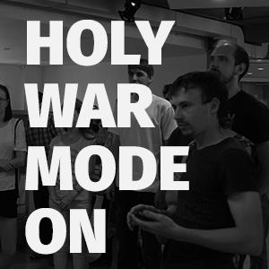 #HolyWarModeOn: адаптивный дизайн