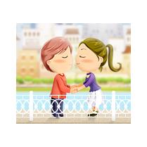 Мы запустили самое романтичное приложение для Facebook иОдноклассников— Мост любви