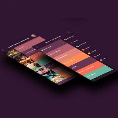 Flat design— пользовательские интерфейсы встиле минимализма