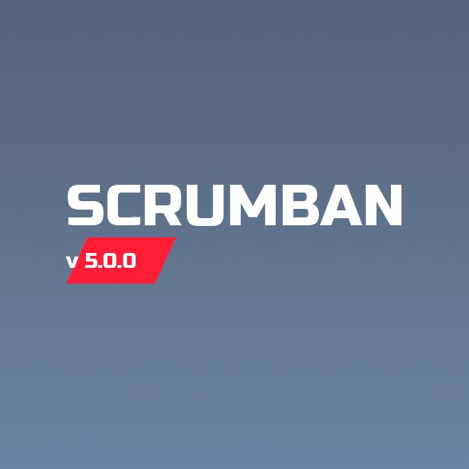 Scrumban v.5.0.0: синхронизация чек-листов иуправление правами доступа