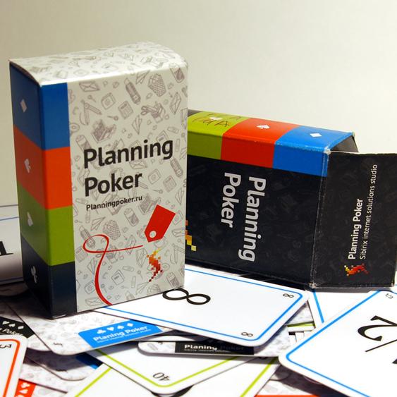 Белые колоды Planning Poker— для планирования взимнее время